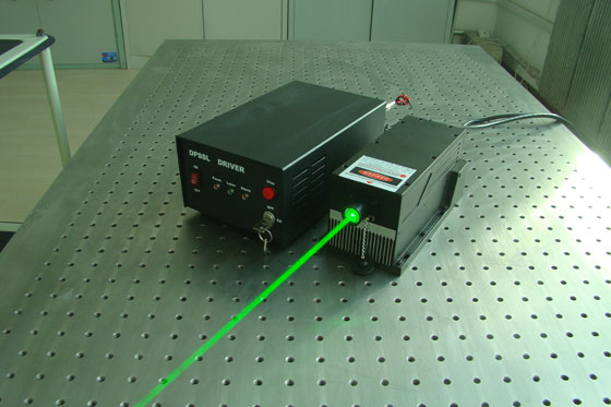 N Series 561nm 300mW Laser