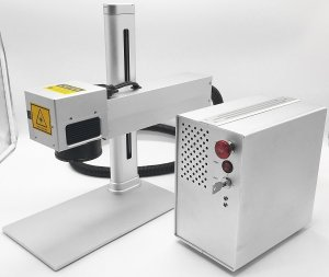 1064nm Laser Marking Machine for Laser Printing Material Engraving